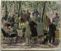 VE-Day Celebrations outside Buckingham Palace (Art.IWM ART LD 5202) (1945).jpg