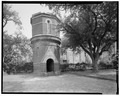 VIEW OF SOUTH SIDE - William Enston Home, Water Tower, 900 King Street, Charleston, Charleston County, SC HABS SC,10-CHAR,354E-1.tif