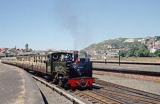Vale of Rheidol Railway - Image: VOR7 Abery 2