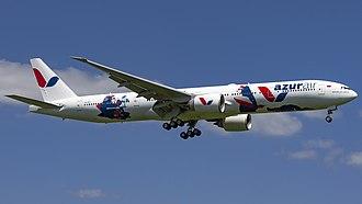 Azur Air - Azur Air Boeing 777-300ER in special livery