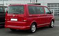 VW Multivan 2.0 TDI Comfortline Team (T5, Facelift) – Heckansicht, 7. April 2011, Velbert.jpg