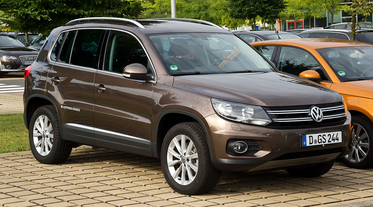 File:VW Tiguan Track & Style (Facelift) – Frontansicht, 2 ...
