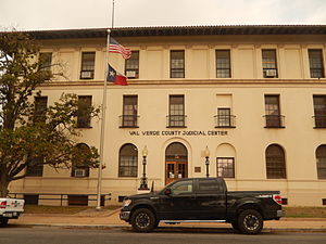 Val Verde County, Texas - Val Verde County Judicial Center at 100 E. Broadway St. in Del Rio