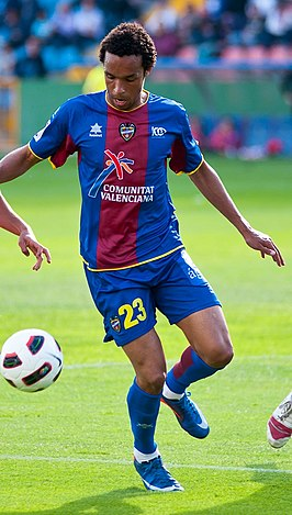 Valdo in het tenue van Levante UD in 2011.