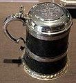 Valentijn alexander, boccale da birra, 1643-44 ca. argento.jpg