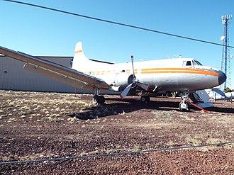 Valle, Arizona - Image: Valle Museum Planes of Fame Air Museum 1957 Martin 4 0 4