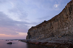 Saaremaa - Panga Cliff.