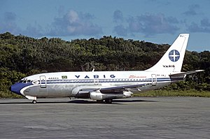 Varig Flight 254 - A Varig Boeing 737-200, similar to the one involved.