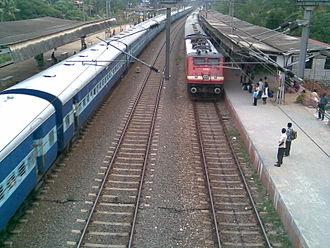 Varkala Sivagiri railway station - Varkala Railway Station front view