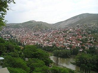 Veles, North Macedonia - Image: Veles panoram