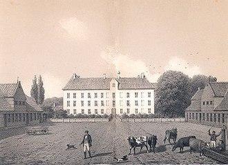Vemmetofte - Vemmetofte prior to the 1862-63 adaption