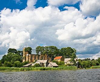 Vepriai - Image: Vepriai from the lake
