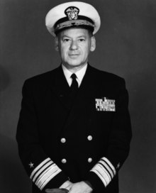 Service photo of United States Navy Rear Admiral Arthur R. Gralla