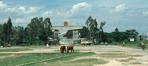 Border checkpoint - Image: Viet Camb Border