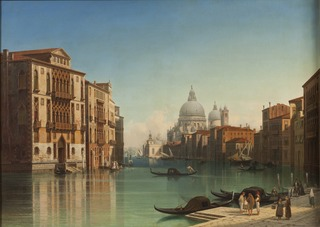 View of Canal Grande in Venice