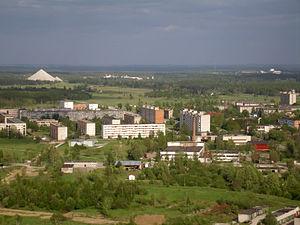 Kiviõli - Image: View of Kiviõli