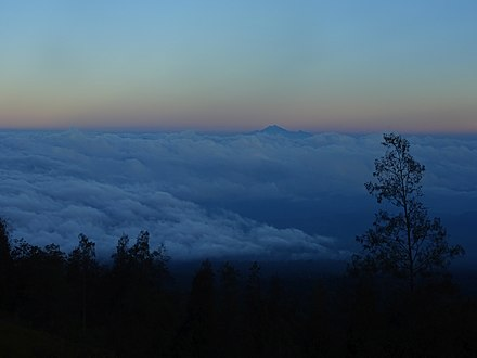 View of Mount Rinjani from Mount Tambora - Lesser Sunda Islands - Indonesia.jpg