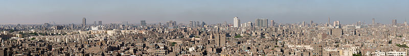 View over Cairo from Citadel.jpg