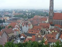 File:View over Landshut from Burg Trausnitz.ogv