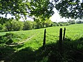 View towards Cliffe Lane from the bridge at Drub - geograph.org.uk - 500538.jpg