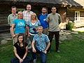 Vikipeedia suvepäevad Viki külas.JPG