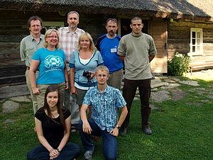 Estonian Wikipedia - Image: Vikipeedia suvepäevad Viki külas
