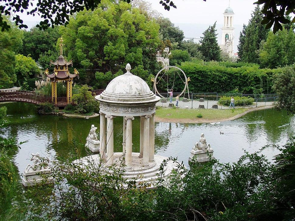Villa Durazzo-Pallavicini - the lake