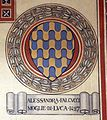 Villa pecori giraldi, sala degli stemmi di pietro alessio chini e dei suoi figli e nipoti, stemma falcucci.jpg