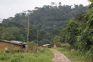 Tayap Place in Centre Region, Cameroon