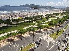 83bd5cea1 O litoral de Santos possui o jardim frontal de praia de maior extensão do  mundo, de acordo com Guinness Book.