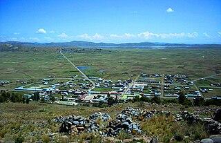 Plateria District District in Puno, Peru