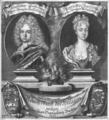 Vogelgesang - Maurice Wilhelm of Saxe-Merseburg and his wife Henriette Charlotte of Nassau.png