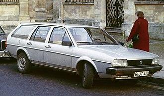 Volkswagen Passat - Volkswagen Passat B2 wagon (Europe)
