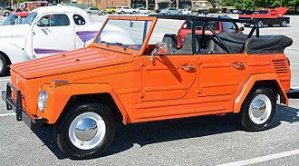 Volkswagen 181 - In orange