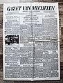 """Voorpagina Vlaams dagblad """"Gazet Van Mechelen"""" 22 februari 1944.jpg"""