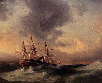 Ottoman frigate Ertuğrul - Image: Voyage of frigate Ertugrul to Japan by Commodore Mirliva Nuri 1839 1906
