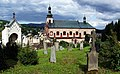 Vrchlabí (Hohenelbe) - church of St. Augustin (view from cemetery).jpg