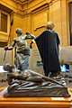 Vuakusu Batetela defends a woman from an Arab - Royal Museum for Central Africa - DSC06745.JPG