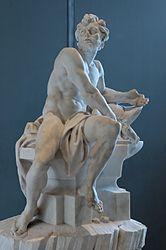 Efesto (Vulcano), Marmo di Guillaume Coustou - Museo del Louvre (Parigi)