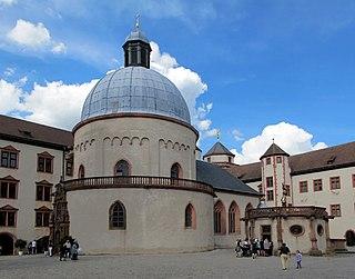 Marienkirche, Würzburg Church in Marienberg Fortress, Germany