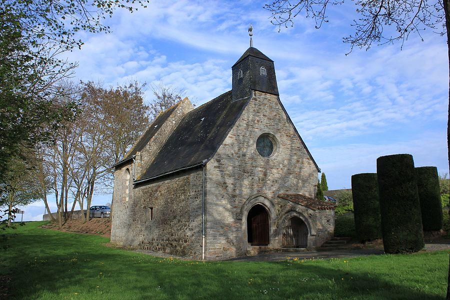 Chapelle Notre-Dame-des-Champs, XV°, Vieillevigne.