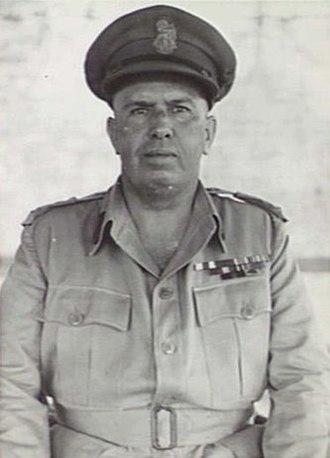 W. C. D. Veale - Brigadier Veale in Lae, New Guinea, 1945