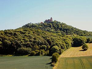 Gleichen - Image: Wachsenburg von Norden