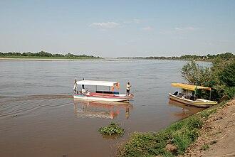 Gezira (state) - Image: Wad Medani Blue Nile