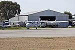 Wagga Air Centre (VH-OWW) Tecnam P2006T on the tarmac at Wagga Wagga Airport.jpg