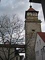 Waiblingen Stadtmauer mit Hochwachtturm (MTheiler) 2017 G.jpg