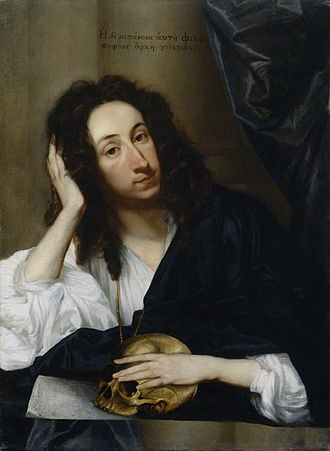 John Evelyn - Evelyn painted by Robert Walker, 1648 in the fashionable deshabillé.