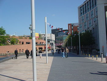 Photo taken near Liverpool One shopping centre...
