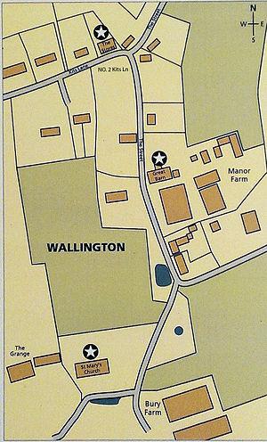Wallington, Hertfordshire - Image: Wallington Hertz U Kmap