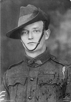 20th Battalion (Australia) - Walter Brown, who received the Victoria Cross following the fighting around Villers-Bretonneux, July 1918